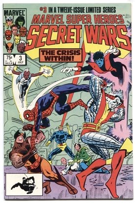 Picture of MARVEL SUPER HERO SECRET WARS (1984) #3 9.6 NM+