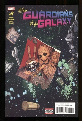 Picture of ALL NEW GUARDIANS OF GALAXY (2017) #9 NM