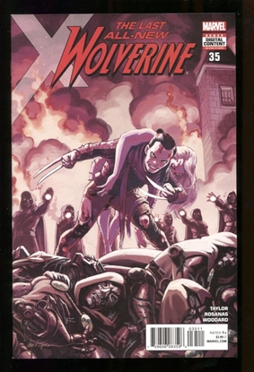 Picture of ALL NEW WOLVERINE  (2015) #35 NM LEG
