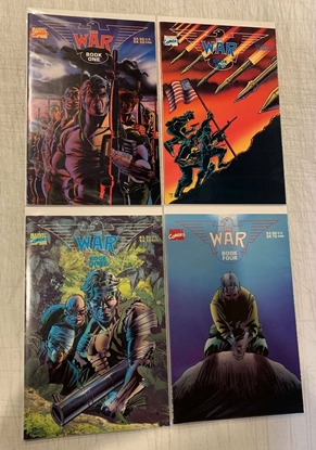 Picture of THE WAR (1989) BOOK #1-4 SET VF/NM