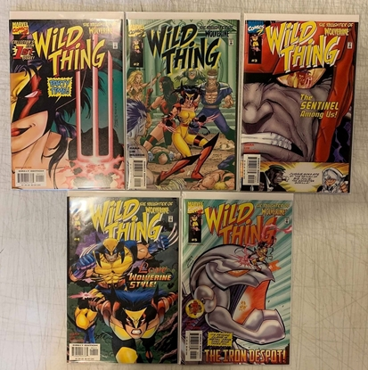 Picture of WILD THING  (1999) #1-5 1ST PRINT SET VF/NM
