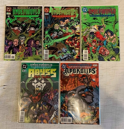 Picture of UNDERWORLD UNLEASHED (1995) #1-3 + ABYSS & APOKOLIPS TIE-IN SET NM-