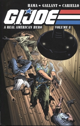 Picture of GI JOE A REAL AMERICAN HERO TPB VOL 8