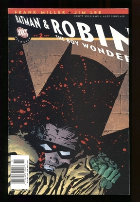 Picture of ALL STAR BATMAN & ROBIN (2005) #2 MILLER CVR 6.0 FN