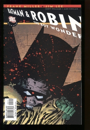 Picture of ALL STAR BATMAN & ROBIN (2005) #2 MILLER CVR 9.4 NM