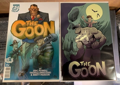 Picture of GOON #6 CVR A & JEFF SMITH VARIANT 2 COVER SET NM