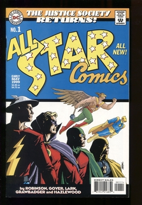 Picture of ALL STAR COMICS (1999) #1 9.4 NM