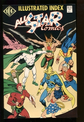 Picture of ALL STAR COMICS ILLUSTRATED INDEX (1987)#1 9.4 NM