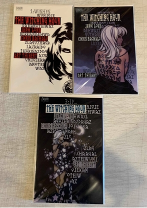 Picture of THE WITCHING HOUR(1999) #1-3  1ST PRINT SET VF/NM