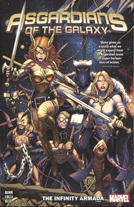 Picture of ASGARDIANS OF THE GALAXY VOL 1 & 2 TPB SET