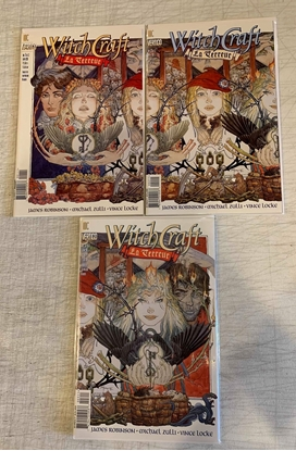 Picture of WITCHCRAFT (1998) #1-3 SET VF/NM