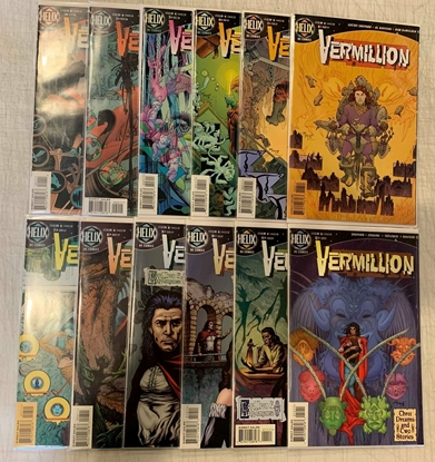 Picture of VERMILLION (1996) #1-12 SET VF/NM