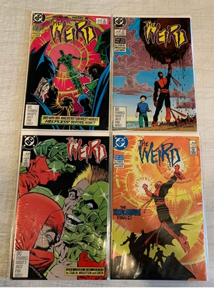 Picture of THE WEIRD (1988) #1-4 SET VF/NM