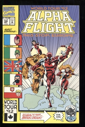 Picture of ALPHA FLIGHT (1983) #108 9.4 NM