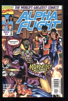 Picture of ALPHA FLIGHT (1997) #4 9.6 NM+