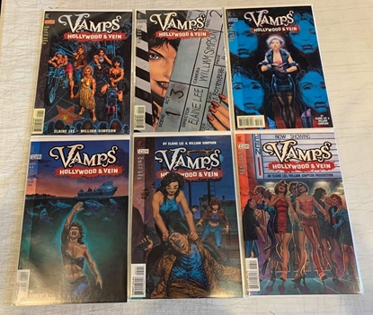 Picture of VAMPS HOLLYWOOD & VEIN (1996) #1-6 SET VF/NM