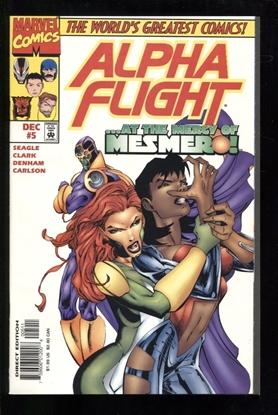 Picture of ALPHA FLIGHT (1997) #5 9.6 NM+