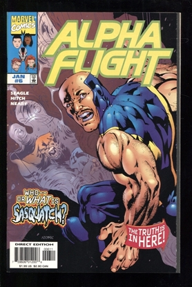 Picture of ALPHA FLIGHT (1997) #6 9.4 NM