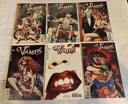 Picture of VAMPS (1994) #1-6 SET VF/NM