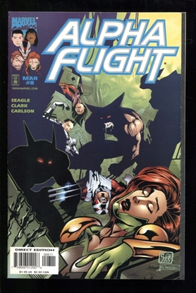 Picture of ALPHA FLIGHT (1997) #8 9.6 NM+