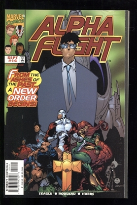 Picture of ALPHA FLIGHT (1997) #14 9.2 NM-