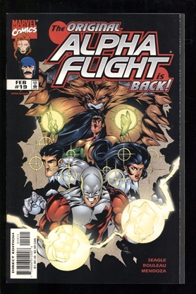Picture of ALPHA FLIGHT (1997) #19 9.6 NM+
