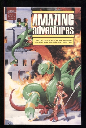 Picture of AMAZING ADVENTURES (1988) ONE-SHOT NM