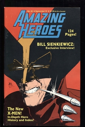 Picture of AMAZING HEROES #55 8.0 VF