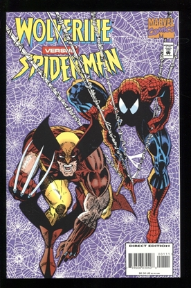 Picture of WOLVERINE VERSUS SPIDER-MAN (1995) #1 9.2 NM-