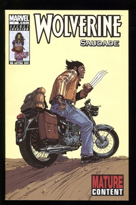 Picture of WOLVERINE SAUDADE #1 9.0 VF/NM