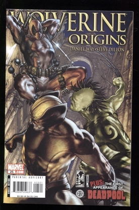 Picture of WOLVERINE ORIGINS #25 VARIANT 9.2 NM-