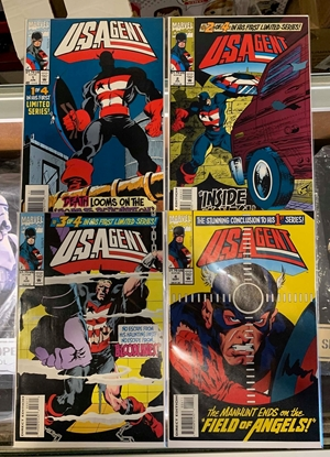 Picture of U.S. AGENT (1993) #1-4 SET NM
