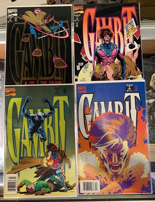 Picture of GAMBIT (1993) #1-4 SET VF SET