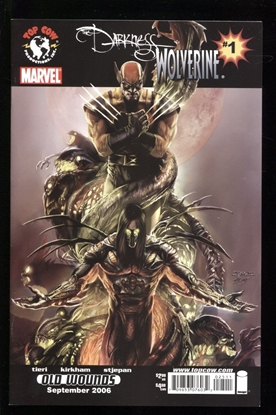 Picture of DARKNESS WOLVERINE #1 ONE-SHOT 9.2 NM-