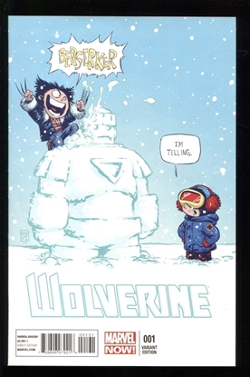 Picture of WOLVERINE (2013) #1 SKOTTIE YOUNG VARIANT 9.4 NM