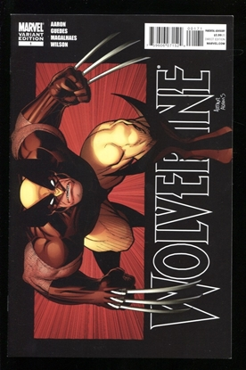 Picture of WOLVERINE (2010) #1 1:25 ART ADAMS VARIANT