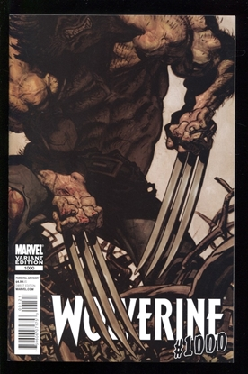 Picture of WOLVERINE (2010) #1000 RAFA GARRES VARIANT 9.4 NM