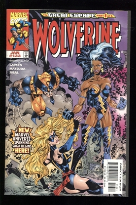Picture of WOLVERINE (1988) #133 ERIK LARSEN VARIANT 9.2 NM-