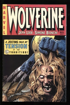 Picture of WOLVERINE (2003) #55 1:10 VARIANT 9.0 VF/NM