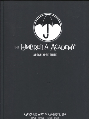 Picture of UMBRELLA ACADEMY LIBRARY EDITION HC VOL 01 APOCALYPSE SUITE