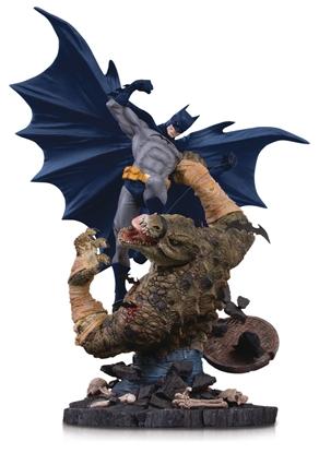 Picture of BATMAN VS KILLER CROC MINI BATTLE STATUE