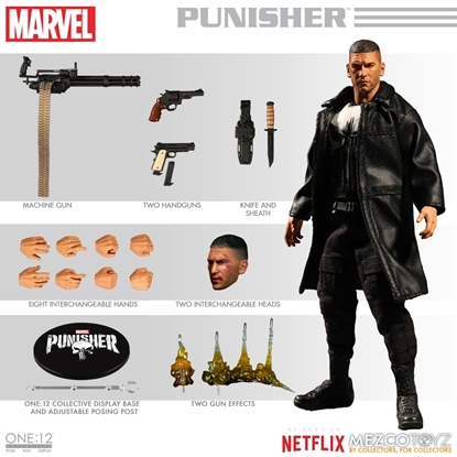 Picture of ONE-12 COLLECTIVE MARVEL NETFLIX PUNISHER AF (NET) (C: 1-1-2