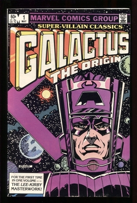 Picture of SUPER VILLAIN CLASSICS GALACTUS THE ORIGIN #1 7.5 VF-