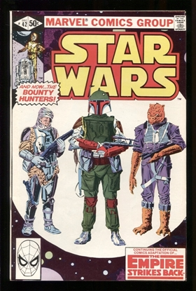 Picture of STAR WARS (1977) #42 8.5 VF+