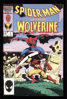 Picture of SPIDER-MAN VERSUS WOLVERINE (1987) #1 9.0 VF/NM