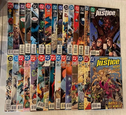 Picture of YOUNG JUSTICE (1998) #1-55 + 3 SPECIALS/ ONE-SHOT SET NM-