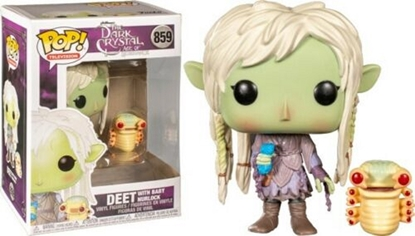 Picture of FUNKO POP TV THE DARK CRYSTAL AGE OF RESISTANCE DEET W/BABY NURLOCK #859 NEW VINYL FIGURE