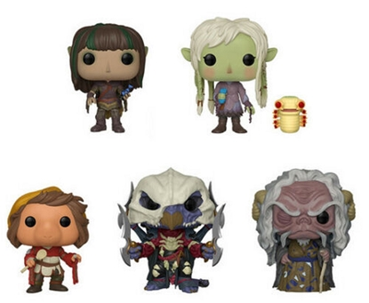 Picture of FUNKO POP THE DARK CRYSTAL AGE OF RESISTANCE SET OF 5 #858-862 NEW VINYL FIGURES