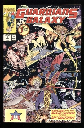 Picture of GUARDIANS OF THE GALAXY (1990) #1 9.6 NM+