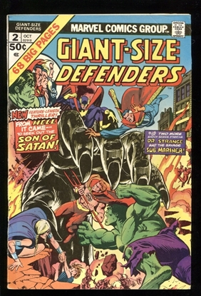Picture of GIANT SIZE DEFENDERS (1975) #2 6.0 FN